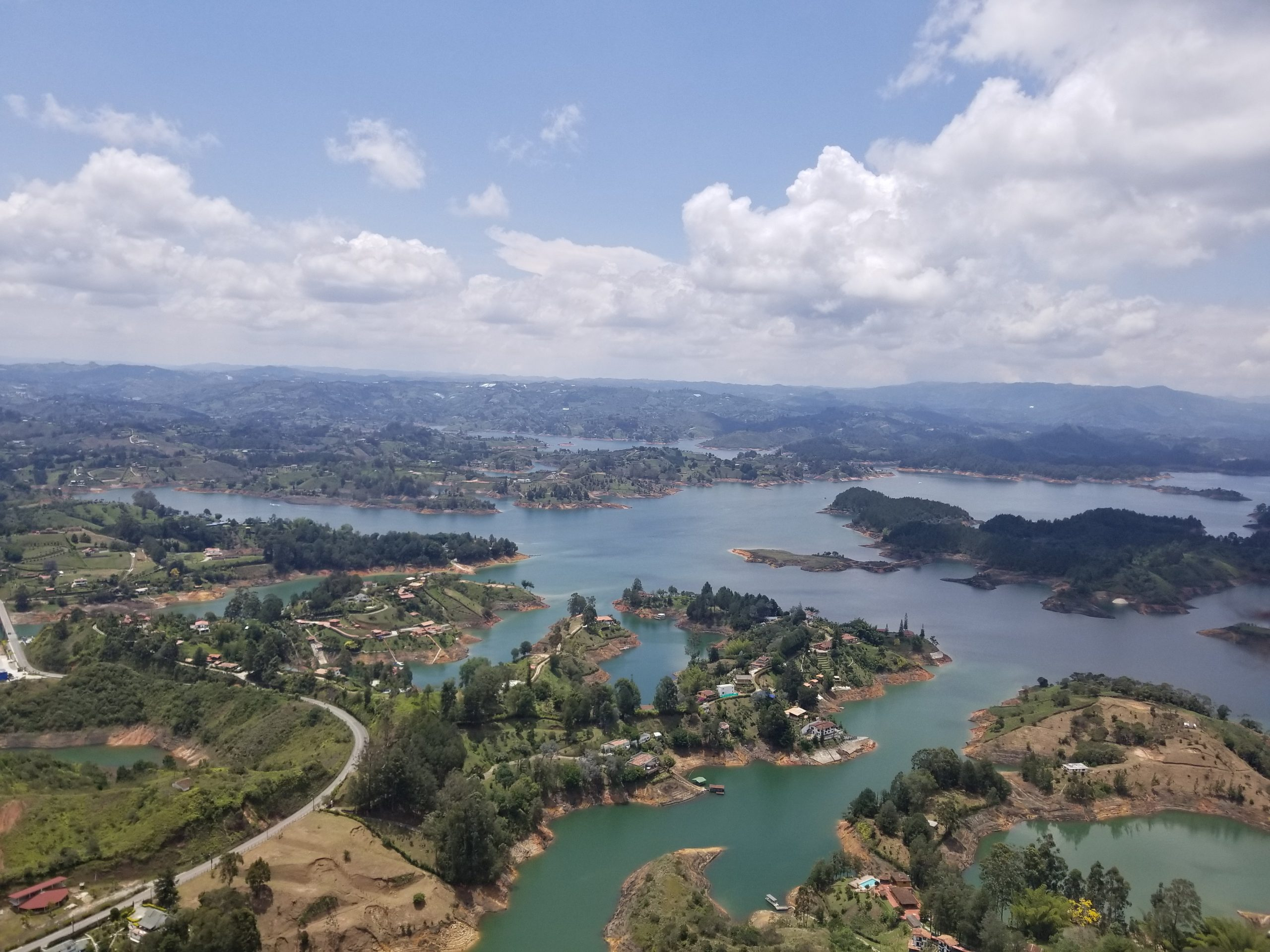 Guatapé Getaway: 740 Steps to the Top of A Rock