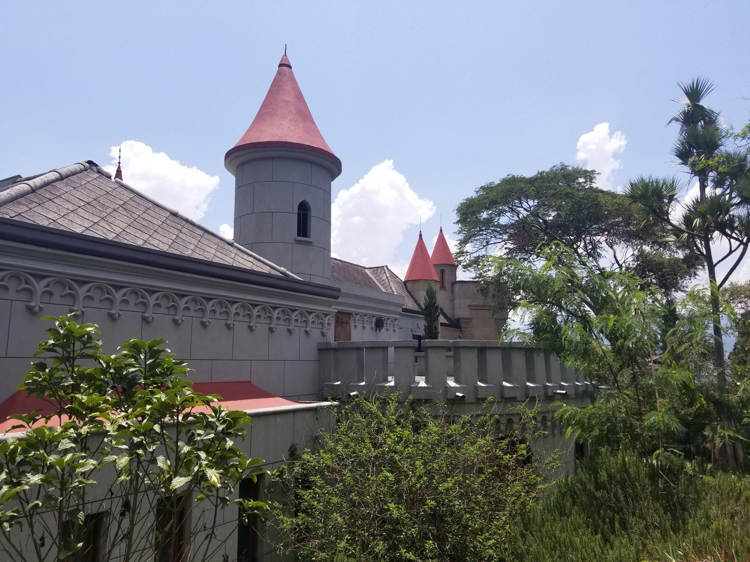 View of Museo el Castillo in Medellin Colombia