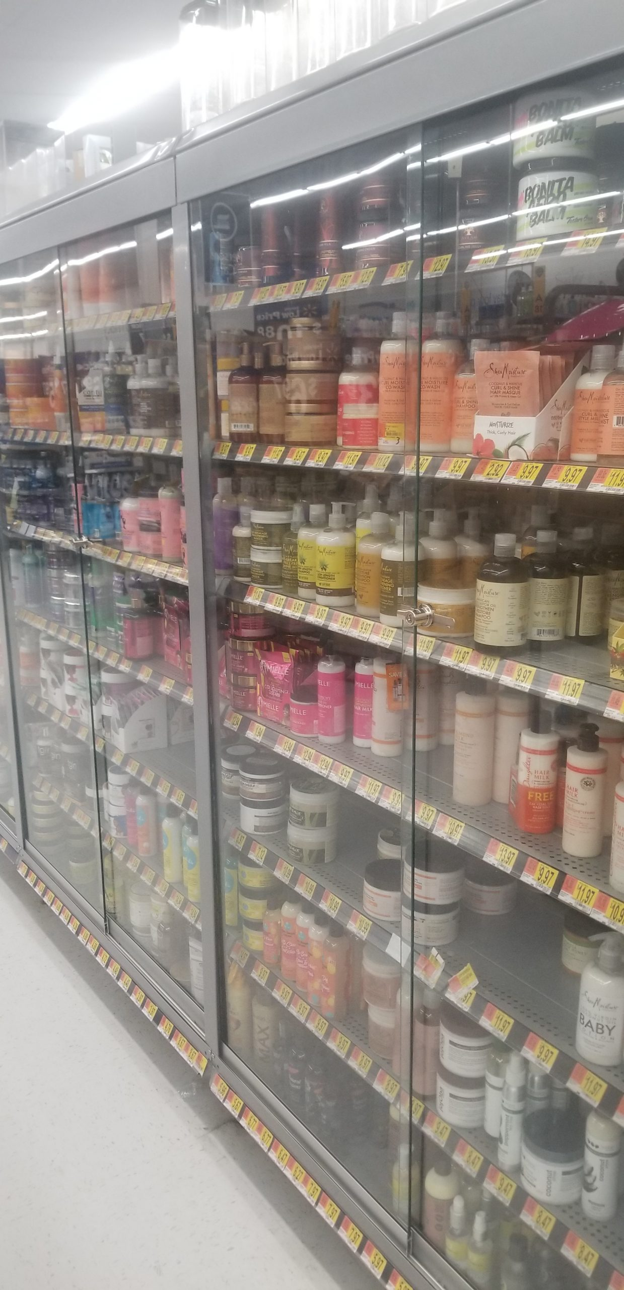 Free the Loc(k)s: Why Is Walmart Locking up Black Hair Products?